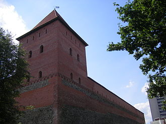 Gediminas - Gediminas Castle in Lida (reconstruction).