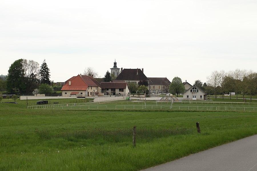 Entrée de Liesle (Doubs).