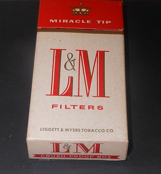 Liggett Group - Image: Liggett & Myers Cigarettes