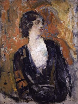 Lillah McCarthy - Portrait of Lillah McCarthy by Ambrose McEvoy, circa 1920