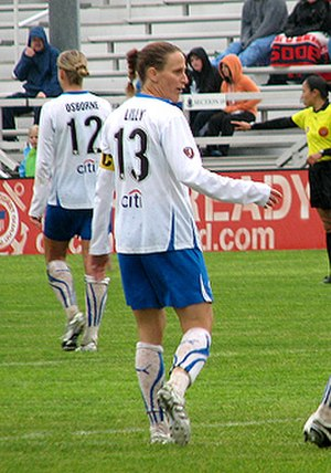 Kristine Lilly - Lilly in April 2010