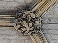 Lincoln Cathedral, Angel Choir N aisle, Most Easterly boss. (25738922118).jpg