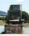 Linz, Eisenbahnbrücke, Abriss 2016, 2.jpeg
