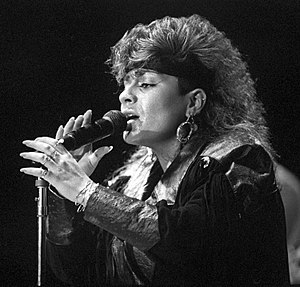 Lisa Lisa and Cult Jam - Lisa Lisa performs in 1987