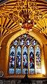 Lit up murals at Bath Abbey (39293862872).jpg