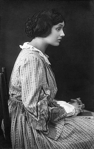 Katharine Cornell - Cornell as Jo March in the 1919 London stage production of Little Women
