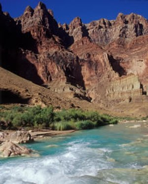 Little Colorado River - The Little Colorado River in its canyon