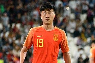 Liu Yang (footballer, born 1995) Chinese association football player