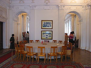 Yalta Conference - A Big Three meeting room
