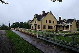 Living History Farms - Tangen Home in 1875 town of Walnut Hill