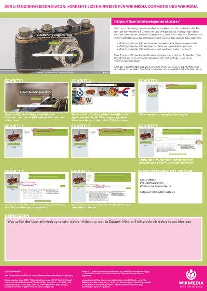 File:Lizenzhinweisgenerator PosterA1 deutsch.pdf