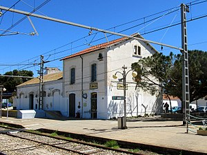 Llançà train station (april 2013) (2).JPG