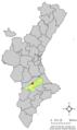 Localització d'Aielo de Malferit respecte del País Valencià.png