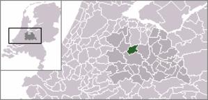 Tienhoven, Maarssen - Image: Locatie Maarssen