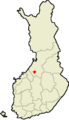 Location of Nivala in Finland.png