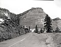 Location of parking area and wayside- Checkerboard Mesa. ; ZION Museum and Archives Image 007 01 028 ; ZION 8173 (313b5f9564864affbdf9ef9523ce5325).jpg