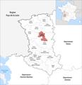 Locator map of Kanton Parthenay 2019.png
