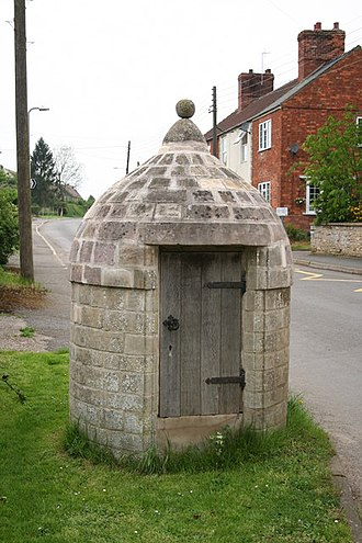 Digby, Lincolnshire - The village lock-up