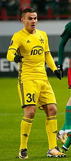 Josip Brezovec Croatian professional footballer
