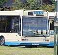 Lodge's Coaches bus Optare Excel V936 VUB.jpg