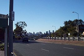 Logan Road, Greenslopes, with Brisbane CBD.jpg