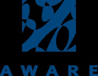 Aware, Inc. - Image: Logo VERT blue
