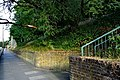 London-Woolwich, St Mary's Gardens, northeastern park entrance from Woolwich Church Street 3.JPG