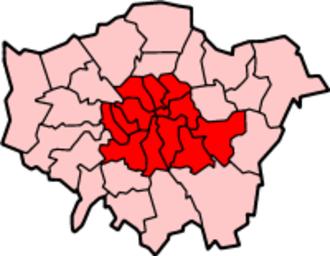 Inner London - Image: London Inner