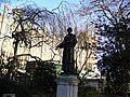 London Parliament - statue of Emmeline Pankhurst (feminist hero). - panoramio.jpg