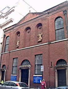London Warwick Street Church Front.JPG