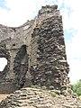Longtown Castle keep stonework.jpg