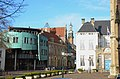Looking North the old and the new cityhall of Zutphen can be seen - panoramio.jpg