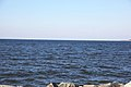 Looking S at mouth of Potomac River - Point Lookout Maryland - 2012-01-15.jpg