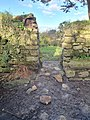 Looking north from the interior of Madron chapel.jpg