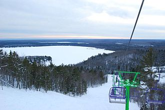 Mount Bohemia - Image: Looking over Lac La Belle