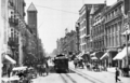 Looking south along Broadway from First Street, 1904-6.png