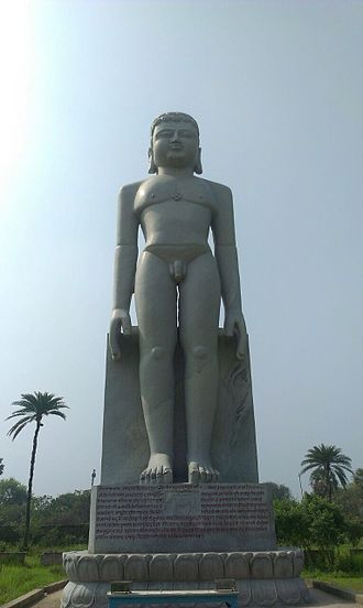 The tallest statue of Lord Vasupujya, Champapur Lord Vasupujya.jpeg