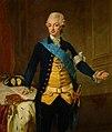 Lorenz Pasch d. J. - König Gustav III. (1746-1792) von Schweden in Uniform, Kniestück - GG 2758 - Kunsthistorisches Museum.jpg