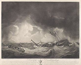 Battle of Saldanha Bay (1781) - Loss of the Dankbaarheyt one of the rich Dutch East India Prizes - taken on 30th of January 1782
