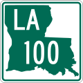 Louisiana 100.svg