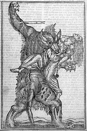 English: A 18th century engraving depicting a ...