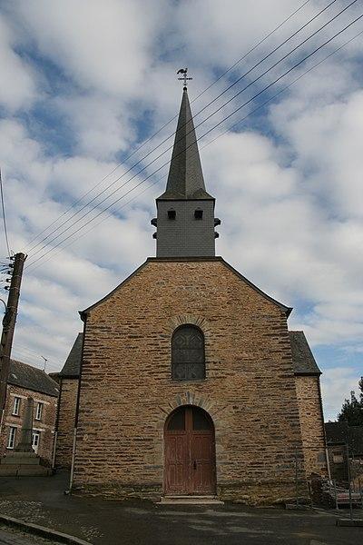 Église Saint-Armel de Loutehel.