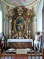 Lovecký zámek Ohrada - kaple sv. Eustacha.jpg