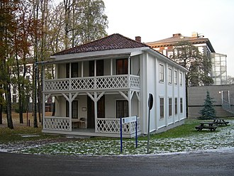 East End and West End of Oslo - The løkke building at Lovisenberg, owned by F.H. Frølich.