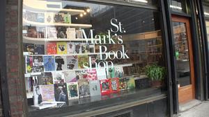 St. Mark's Bookshop - St Marks Bookshop, closeup,  in New York City
