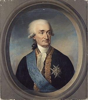 Luc Urbain de Bouëxic, comte de Guichen - Luc Urbain de Bouexic, comte de Guichen (1712-1790);  portrait by Paulin Guérin.
