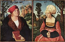 Lucas Cranach the Elder: Portraits of Johannes and Anna Cuspinian