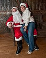 Lucky Gal and Bad Santa, at Jamian's Bar, Red Bank, New Jersey (4217532694).jpg