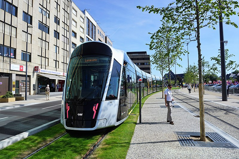 Melhor transporte de Luxemburgo