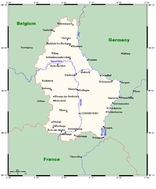 Outline of Luxembourg - Wikipedia